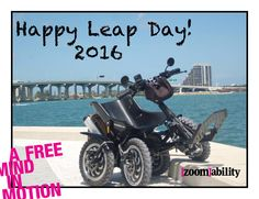 Zoom, all terrain mobility device, helps restore joy and freedom by making the outdoors more accessible for everyone! www.zoomability.com