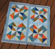 Remember a few days ago  when I shared one of the  Fat Quarter Shop  Top 10 You Tube video Quilts, well today, I get to share another one!...