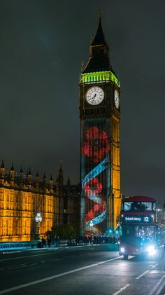 Big Ben, London, England.