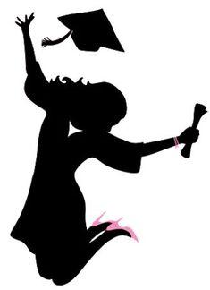 Graduation Cartoon, Graduation Images, Graduation Decorations, Graduation Cards, College Graduation, Graduate School, Graduation Templates, Graduation Silhouette, Illustration Mignonne