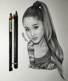 Ariana grande drawing