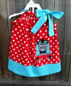 Thomas The Train Pillowcase Inspiration Custom Boutique Thomas The Train Pillowcasejanslittlehearts Design Decoration