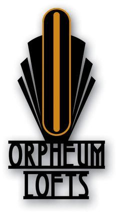 Phoenix, AZ - Orpheum Lofts Logo designed by Jeff Moss - Moss Creative, LLC