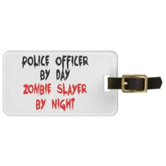 ==>Discount          	Police Officer Zombie Slayer Luggage Tags           	Police Officer Zombie Slayer Luggage Tags so please read the important details before your purchasing anyway here is the best buyDeals          	Police Officer Zombie Slayer Luggage Tags Review from Associated Store wit...Cleck Hot Deals >>> http://www.zazzle.com/police_officer_zombie_slayer_luggage_tags-256007648001268933?rf=238627982471231924&zbar=1&tc=terrest