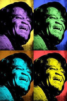 JAMES BROWN celebrity singer MULTIPLE IMAGE pop art poster 24X36 SOUL funk Brand New. 24x36 inches. Will ship in a tube. - Multiple item purchases are combined the next day and get a discount for dome