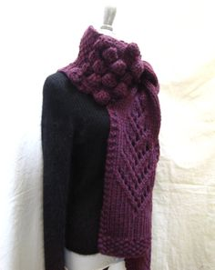 Hand Knit Scarf PATTERN PDF File for Extra Long by lavishcraft, $5.75