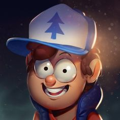 Finished up Dipper! Really fun piece to work on. #drawing #illustration #dipper #gravityfalls #digital #art ★ Find more at http://www.pinterest.com/competing/