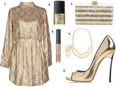 LoppStyle Wardrobe Inspiration: Gold Member