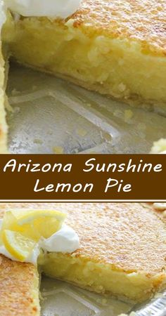 Lemon Dessert Recipes, Lemon Recipes, Fruit Recipes, Pie Recipes, Cold Desserts, Delicious Desserts, Good Pie, Spring Food, Cube Steak