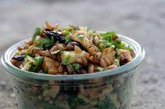 roasted root vegetable and wheat berry salad via David Lebovitz