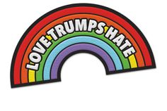 LOVE TRUMPS HATE PATCH