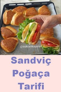 Sandviç Poğaça Tarifi Sandviç – The Most Practical and Easy Recipes Delicious Cake Recipes, Yummy Cakes, Dessert Recipes, Desserts, Sandwiches, New Recipes, Healthy Recipes, Pork Roast, No Bake Cookies