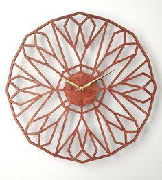 North Star Laser Cut Wood Clock | Home Decor | Sarah Mimo Clocks | Scoutmob Shoppe | Product Detail