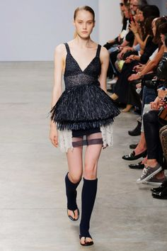 #Allude #2015 #Fashion #Show #ss2015 #pfw #Paris #Fashionweek via @TheCut