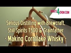 How to Make Cornflake Whisky From Start to Finish - Hand Crafted Corn Wh.
