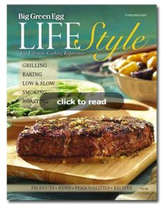 The Ultimate Cooking Experience Magazine V4-14 Big Green Egg Lifestyle Inclu