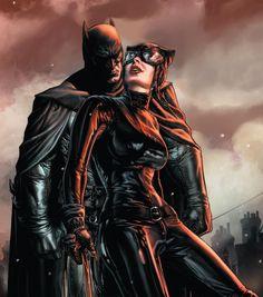 "dcvertigodaily: ""Batman & Catwoman in Batman: Nöel. Catwoman Comic, Catwoman Cosplay, Batman And Catwoman, Im Batman, Superman, Joker, Batman Poster, Batman Artwork, Batman Wallpaper"