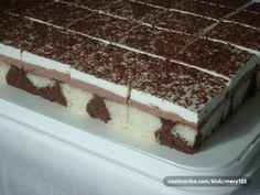 Dalmatiner - veoma ukusan i jednostavan kolač! ~ Recepti i Ideje Shower Cakes, Graham Crackers, Christmas Cookies, Tiramisu, Cheesecake, Deserts, Food And Drink, Treats, Baking
