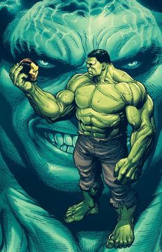 Gerry Duggan kicked off his Hulk run by unleashing a new persona from within the Green Goliath. Doc Green is ready for SMASH the Marvel Universe with his enhanced muscles and mind. In Hulk Dugga… Spiderman, Hulk Avengers, Hulk Marvel, Marvel Heroes, Comic Book Characters, Marvel Characters, Comic Books Art, Hulk Smash, Bd Comics
