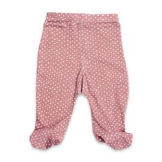 Footed Pant Rose Dot $24.00  Soft cotton footed pant with all over print.