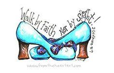 Change the shoe...