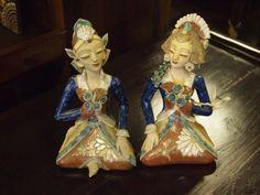 "Ceramic ""Loro Blonyo"" (Wedding Figures) from Yogyakarta, Central Java.  They're the perfect wedding gift.  GadoGado.com"