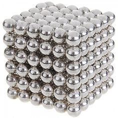 216pcs 5mm Neodymium Iron Boron NIB Magnetic Balls with Steel Case Silver.  Check this out at the Tmart link on MomTheShopper.