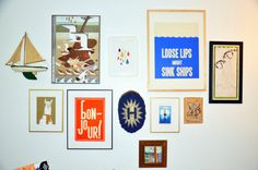 The #Nursery Files: Hanging a Gallery Wall From HGTV's Design Happens Blog (http://blog.hgtv.com/design/2013/05/17/the-nursery-files-hanging-a-gallery-wall/?soc=pinterest)
