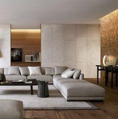 bristol #sofa by jean-marie massaud   #livingroom #shadesofwhite