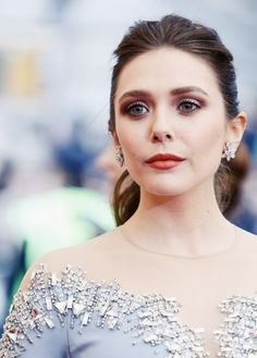 Elizabeth Olsen attends the 'Charles James: Beyond Fashion' Costume Institute Gala at the Metropolitan Museum of Art on May 5