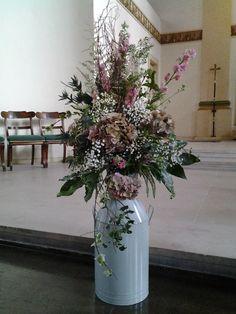 Church entrance arrangement