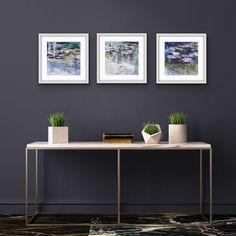 Joanne Reen: Water Garden Study I: fine art   StateoftheART Wall Art Decor, Wall Art Prints, Canvas Prints, Metal Walls, Metal Wall Art, Nature Artwork, Alcohol Ink Art, Wood Sizes, Wood Print
