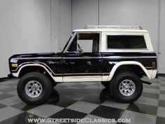 1977 Ford Bronco Maintenance/restoration of old/vintage vehicles: the material…