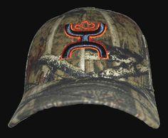 Mens Cowboy Hat HOOey Buckshot Camo Cowboy Cap