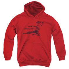 """Checkout our #LicensedGear products FREE SHIPPING + 10% OFF Coupon Code """"Official"""" Bruce Lee / Line Kick-youth Pull-over Hoodie - Bruce Lee / Line Kick-youth Pull-over Hoodie - Price: $49.99. Buy now at https://officiallylicensedgear.com/bruce-lee-line-kick-youth-pull-over-hoodie"""