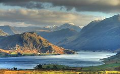 Rannerdale Knotts towards Great Gable_HDR_TM by timlumley, via Flickr