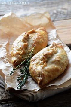 Herbed Beef Pasties with Carrot and Parsnip Recipe - a fun take on classic British food for the start of Downton Abbey Season 5 on Sunday! food and drink Carrot And Parsnip Recipe, Parsnip Recipes, Beef Recipes, Cooking Recipes, Recipies, Fancy Recipes, Jackfruit Recipes, Seafood Recipes, Cornish Pasties