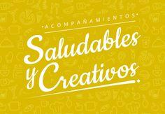 Acompañamientos saludables y creativos Ideas Sencillas, Neon Signs, Creativity