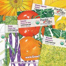 GrowOrganic.com Seeds