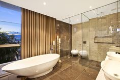 Master Bathroom. Architecture and Interior Design by ID Studios Pyrmont