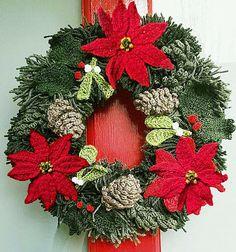 Countdown to Christmas …Yarn Christmas Wreath, Part 1