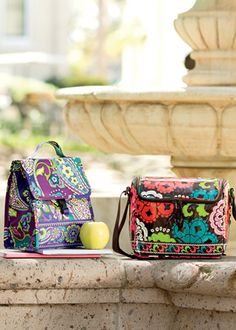 The lunch collection from Vera Bradley 512c8afc345b3