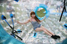 Zorb-Ball, Chocolate Hills Adventure Park, Bohol