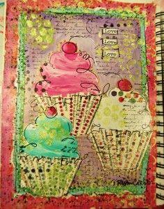 Art Journal from ruthiecarlson Junk Journal, Art Journal Pages, Art Pages, Art Journals, Collages, Collage Art, Collage Ideas, Creative Journal, Creative Art
