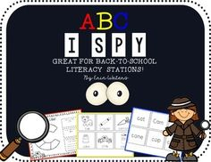 This ABC scavenger hunt is perfect back to school classroom activity for literacy stations, language arts block, and whole class letter recognition & building phonemic awareness.. Using this product's pre-made word cards, picture cards, and also naturally-occurring classroom items, Students will...-Illustrate words, pictures, and items they find beginning with the designated letter. -Tally the number of upper and lowercase version of the designated letter they find-List words they find be...