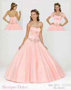 Quinceañera Dress by Blush Q113 (color in stock: Sky (Turquoise shade))