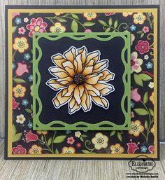 Melanie has shared her love of the Flower Power coordinating stamp and die set on her blog! Check out the full post for more info: http://fairystampland.blogspot.com/2017/02/elizabeth-craft-designs-flower-power.html