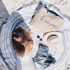 sunshine days...feat. our wategos roundie & original jute via @zoewithloveblog
