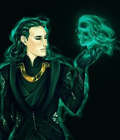 Thor+Loki the Sorcerer by Leyla-Lovely.deviantart.com on @deviantART