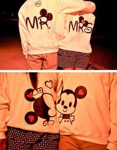 Mr. And mrs. Shirt